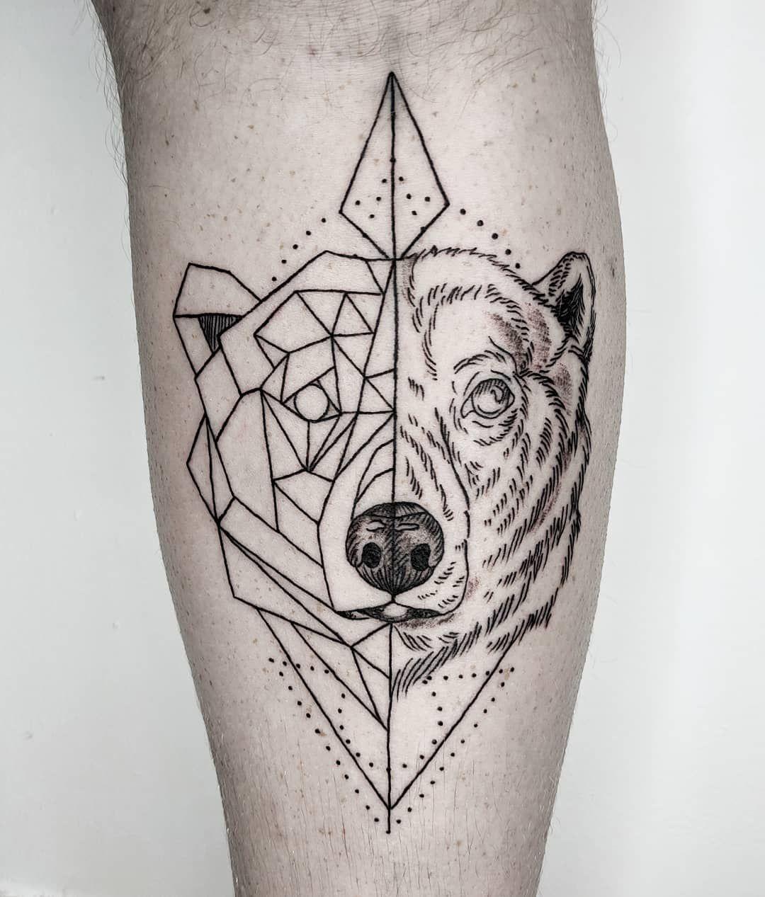 12++ Awesome Geometric animal tattoos ideas image HD