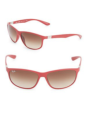 3b18fbfcfed61 ... where to buy ray ban liteforce logo temple sunglasses red size no size  3688f c76ab