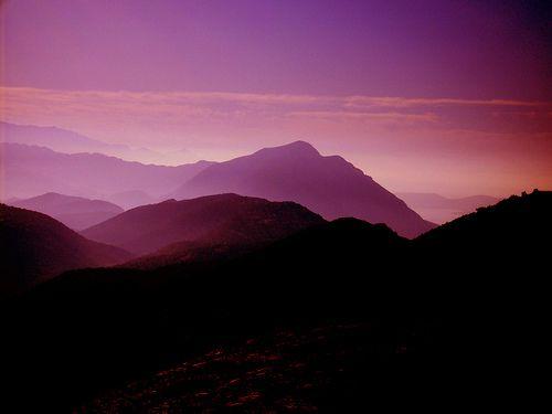 Purple Mountains Beautiful Landscape Photography Purple Mountain Majesty Colour Story