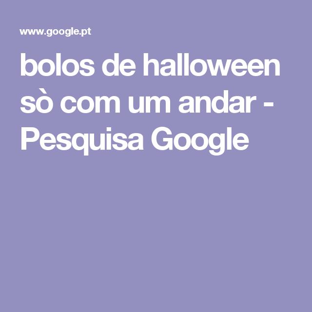 bolos de halloween sò com um andar - Pesquisa Google