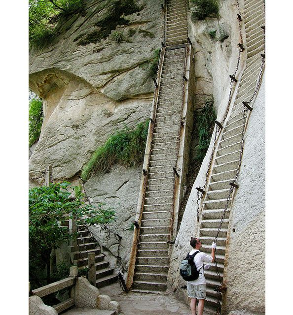Best Places Hike World: Daily Escape - Ascent Of Mt. Huashan