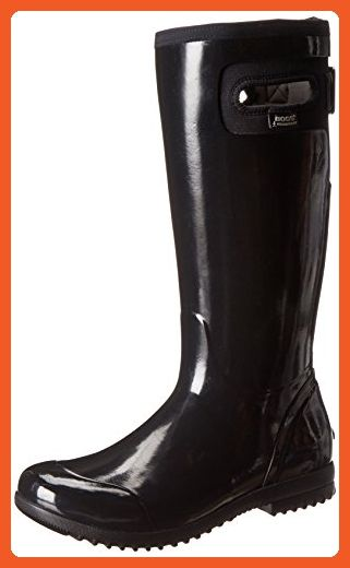 Bogs Women S Tacoma Tall All Weather Rain Boot Black 7 M Us Boots For Women Amazon Partner Link Boots Womens Bogs Rain Boots