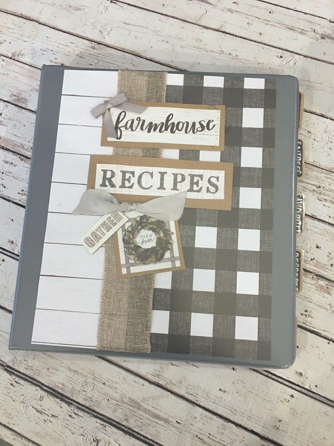 Diy recipe binder and free printable to organize all of