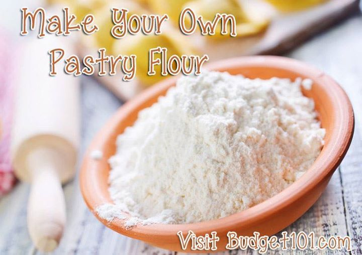 MYO Pastry Flour Homemade Recipes and Homemade cake mixes
