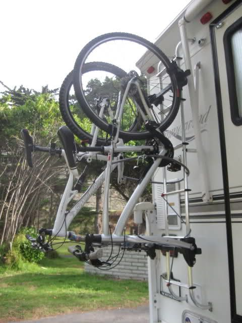 Rv Net Open Roads Forum Truck Campers Hanging Bike Rack To