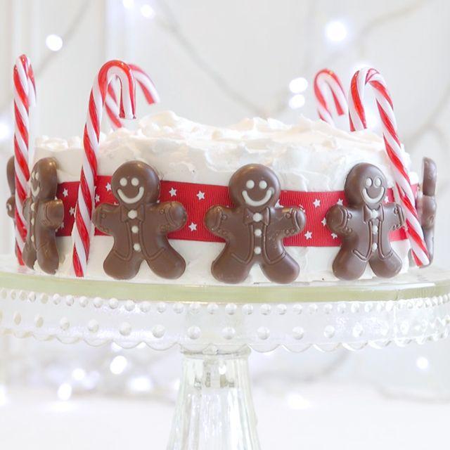 Wonderful Christmas Cakes Decorations Ideas Part - 14: Christmas Cake Decorating Ideas