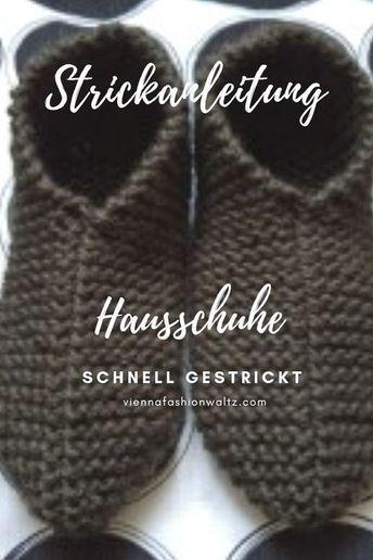 Photo of DIY kostenlose Strickanleitung Hausgemachte Hausschuhe