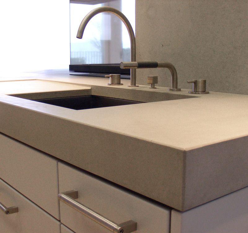 Beton Küchenarbeitsplatte Einrichtung Pinterest Küche und - k chenarbeitsplatten aus beton