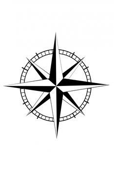 Star Compass Tattoos : compass, tattoos, Nautical, Compas, Compass, Tattoo,, Tattoo, Meaning,