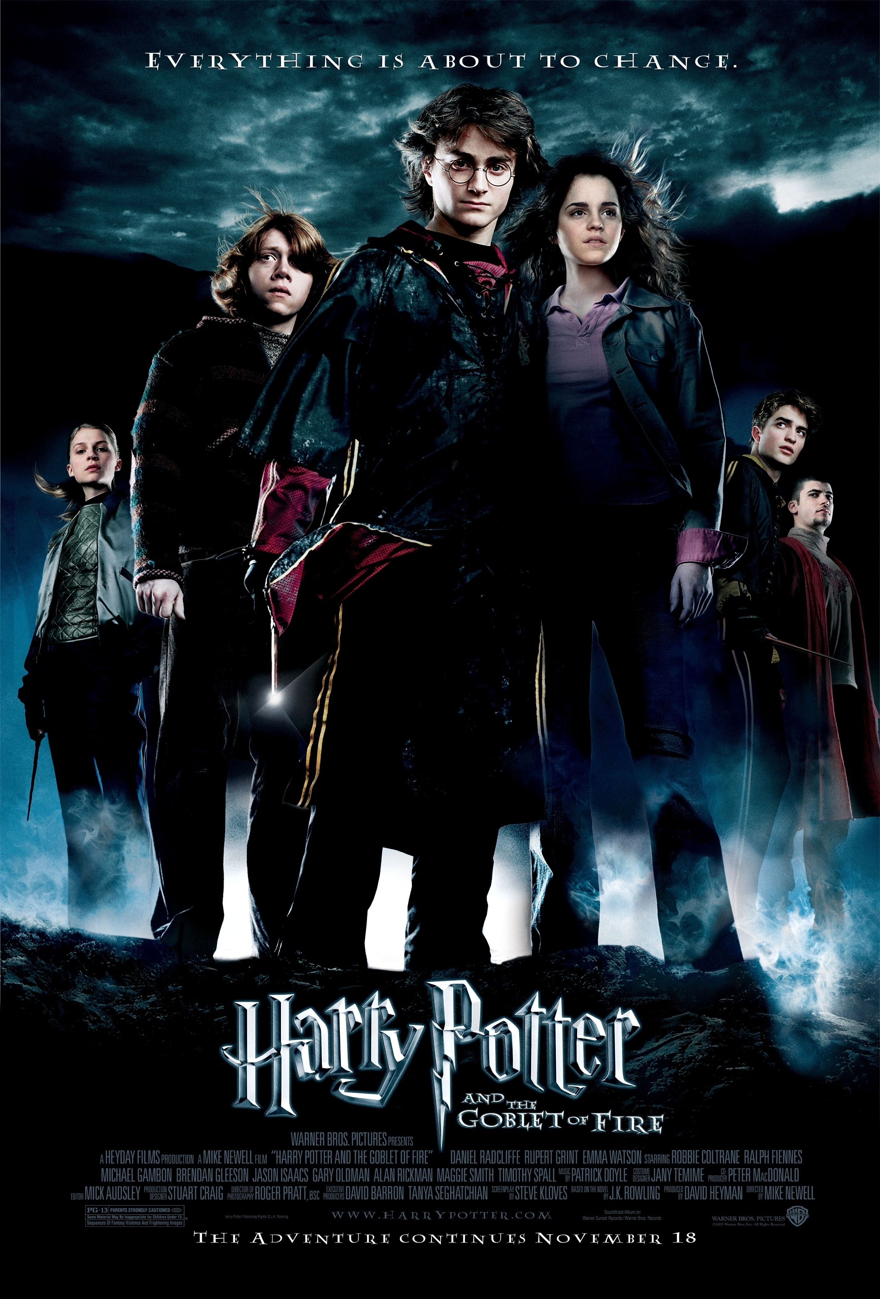 Harry Potter And The Goblet Of Fire 2005 U K U S A With