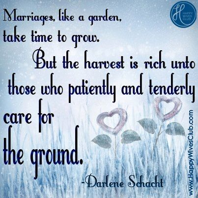 marriages are like a garden gardens virtuous woman and thoughts