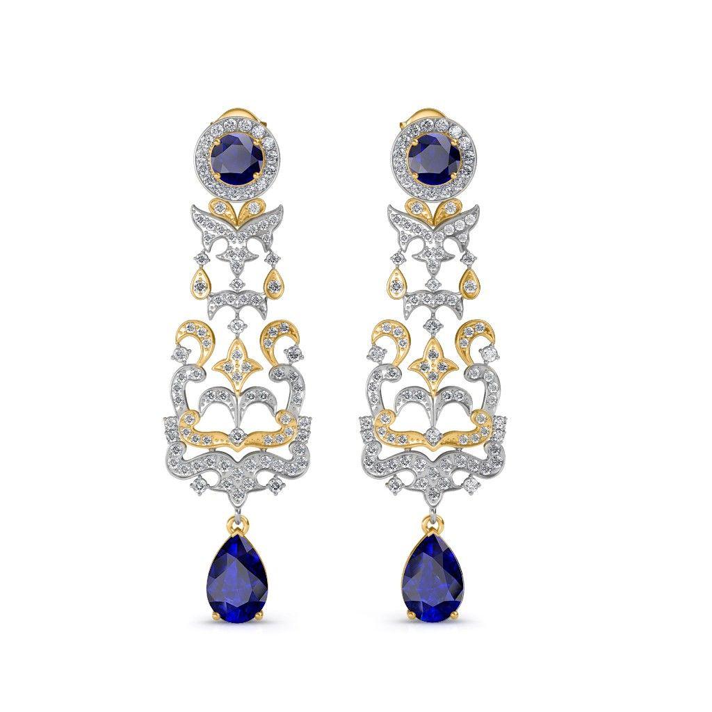 The irina chandelier earrings yellow chandelier earrings the irina chandelier earrings yellow arubaitofo Choice Image