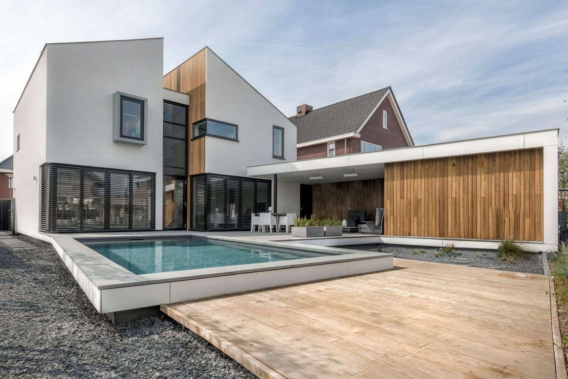 House daasdonklaan by zone zuid architecten modern evler