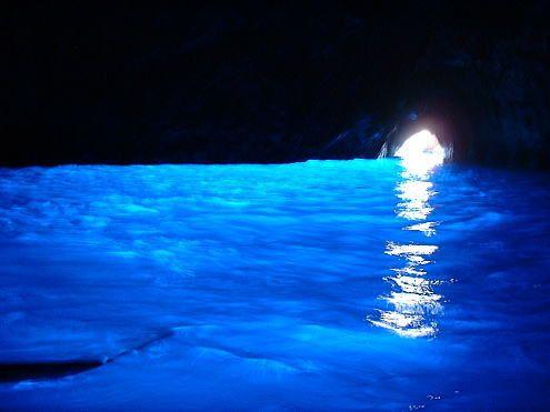Grotta Azzurra  青の洞窟/カプリ島