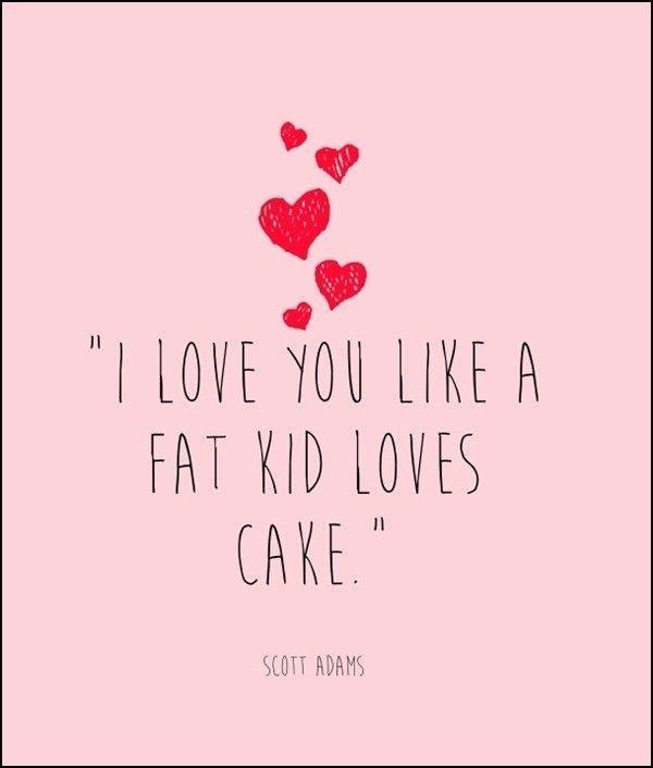 or how I love cake ;) | Ideas | Pinterest