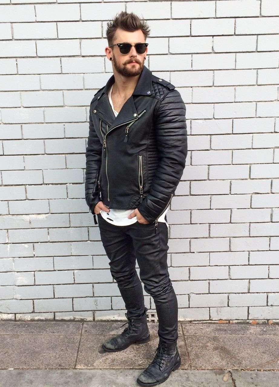 Fashion Combat Boots For Men - Yu Boots