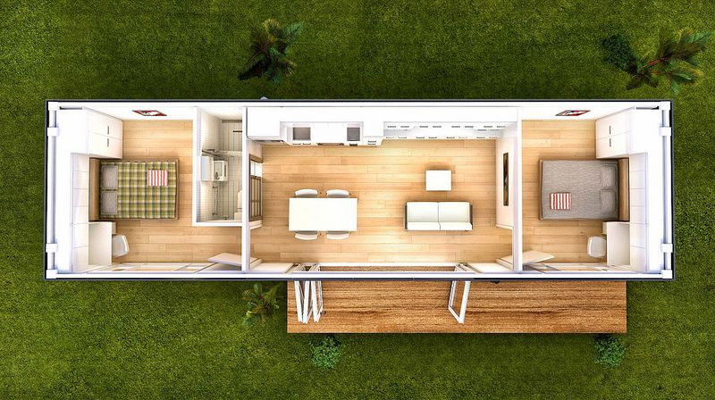 Floor Plan San Marino Prefab Container Home Container House Shipping Container Home Designs Building A Container Home