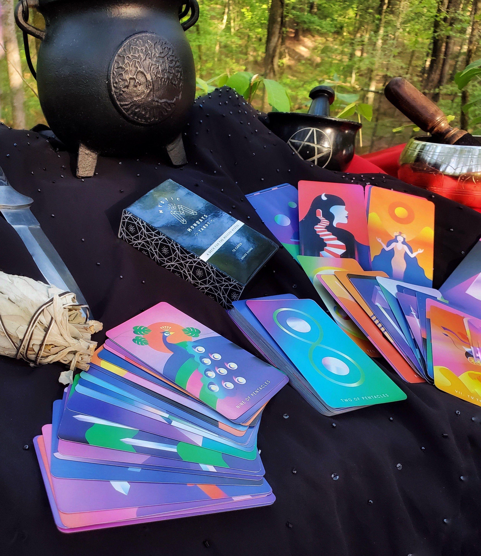 Mystic mondays tarot in 2020 tarot cards decks beautiful