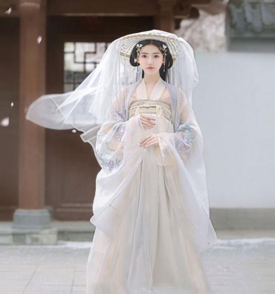 二枚送料無料 オリジナル超綺麗豪華漢服セット 衣装三点セット+かぶりかさ 中国古代伝統衣装漢 ... #RakutenIchiba #楽天