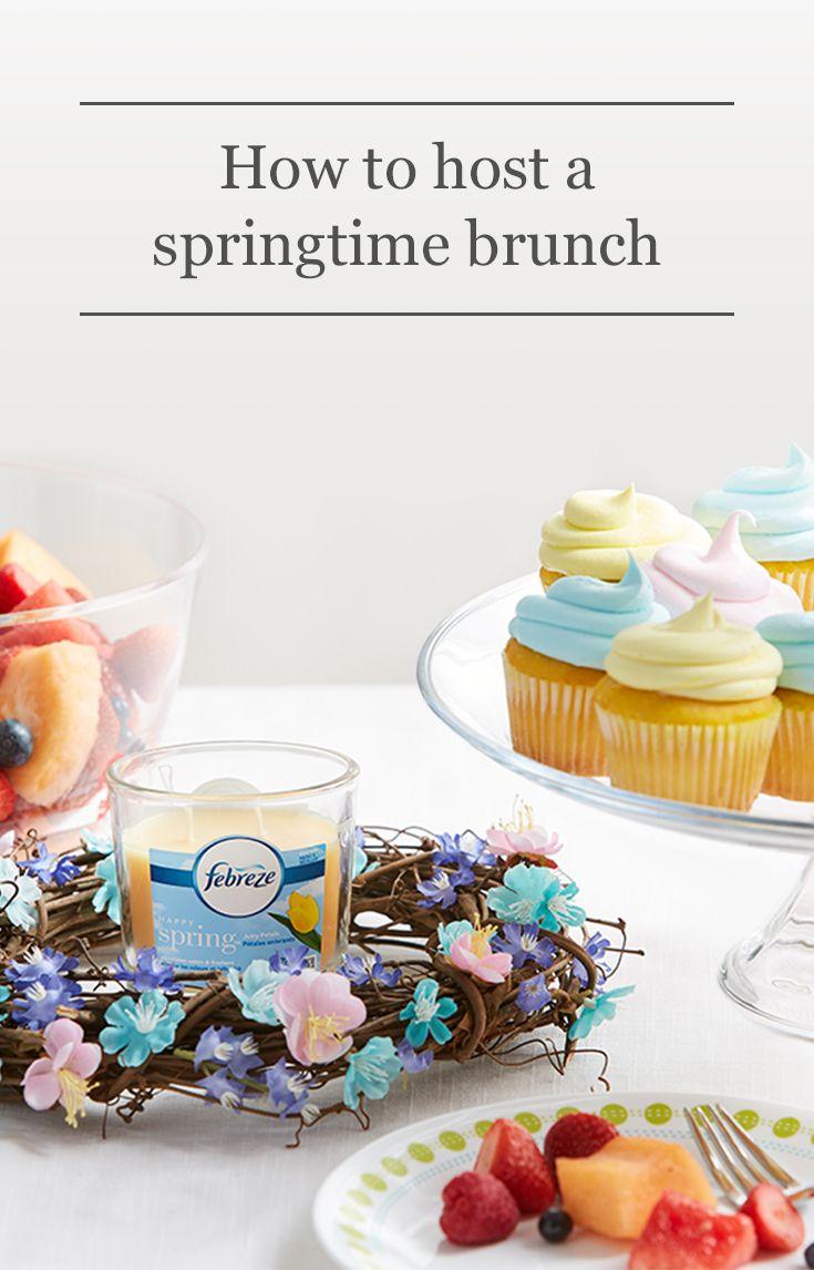 how to host a springtime brunch party get simple brunch menu ideas