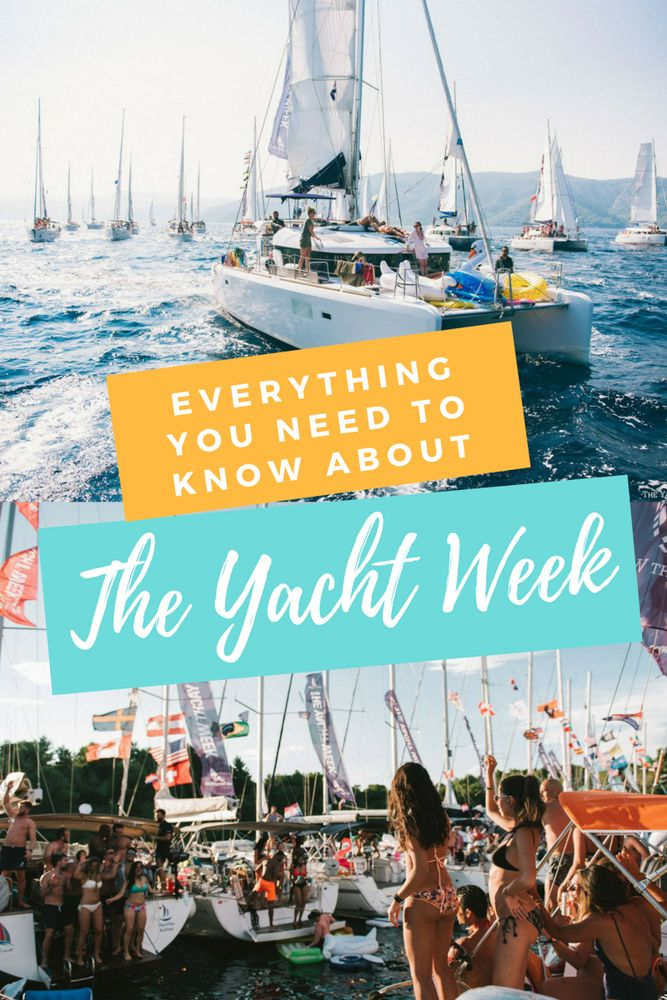 Everything You Need To Know About The Yacht Week