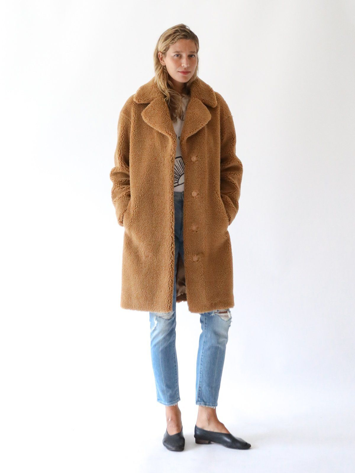 c859e56fd0d8 STAND - Camille Cocoon Coat in Nougat | CHIC • FASHIONISTA | Coat ...