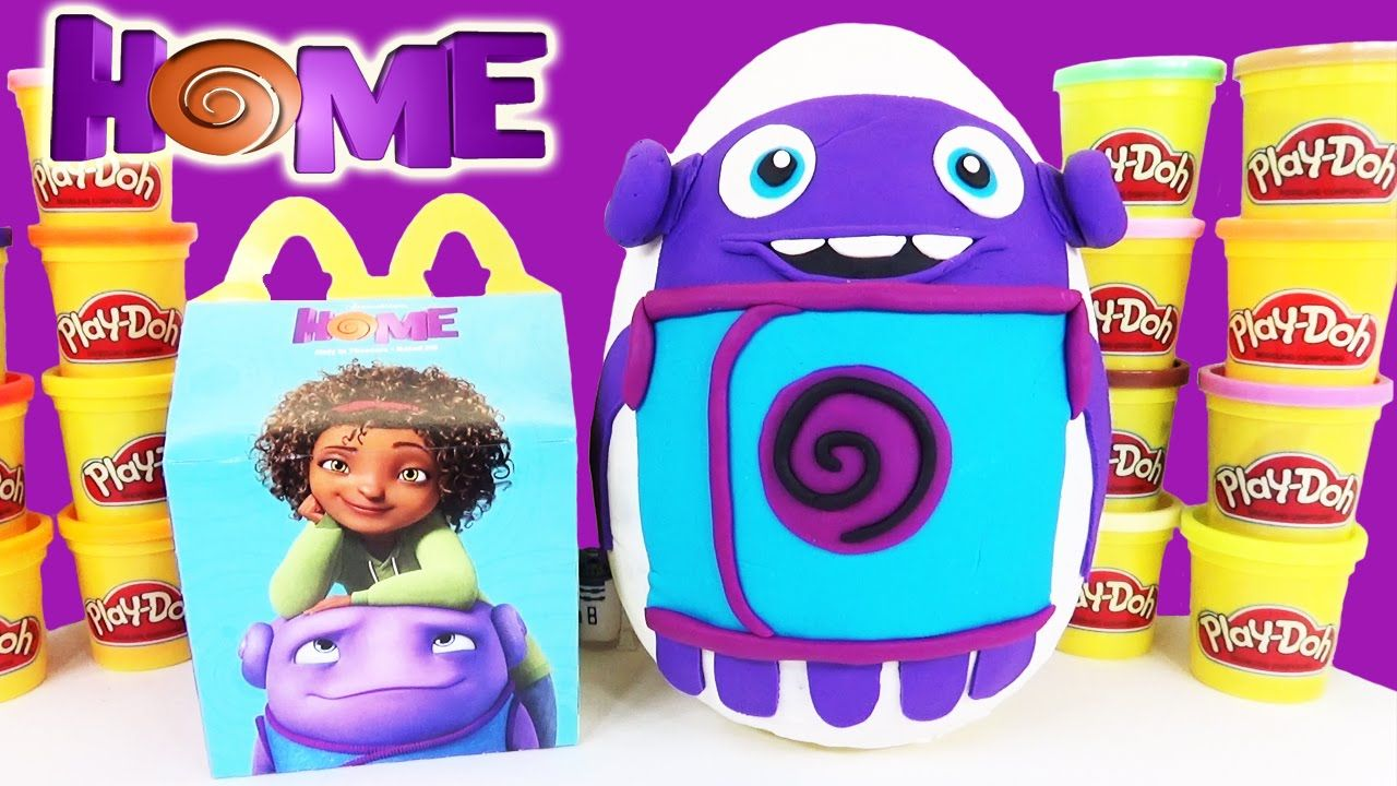 Ben 10 toys images  Dreamworks Movie HOME  Play Doh Surprise Egg with FUN McDonaldus