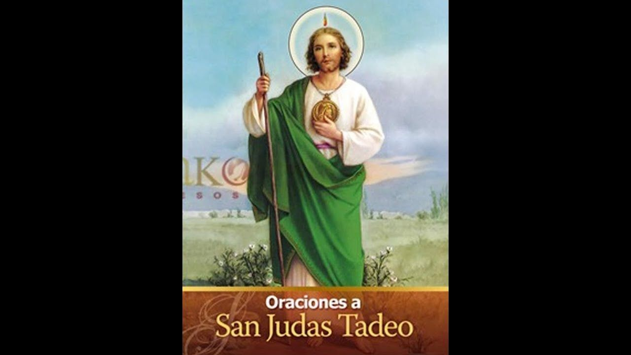 San Judas Tadeo Oracion Causas Dificil Pinterest