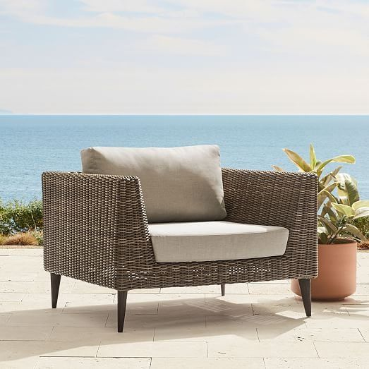 Marina Outdoor Lounge Chair in 2019 | What\'s New at West Elm ...