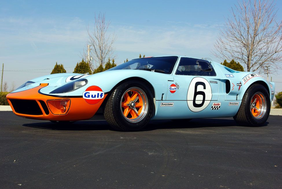 ford gt40 rival of ferrari in the epic battles of classic le mans