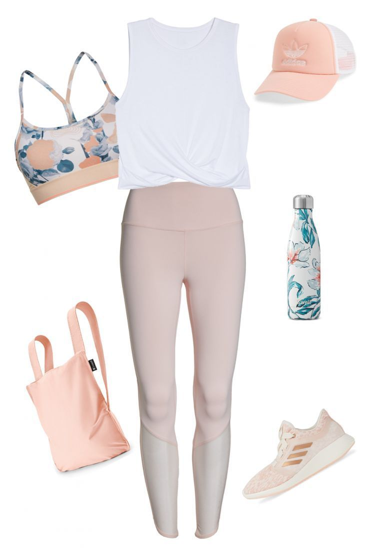 Workout Outfit: 'Summer Flower' Workout Outfit For Women – Outfit Seek