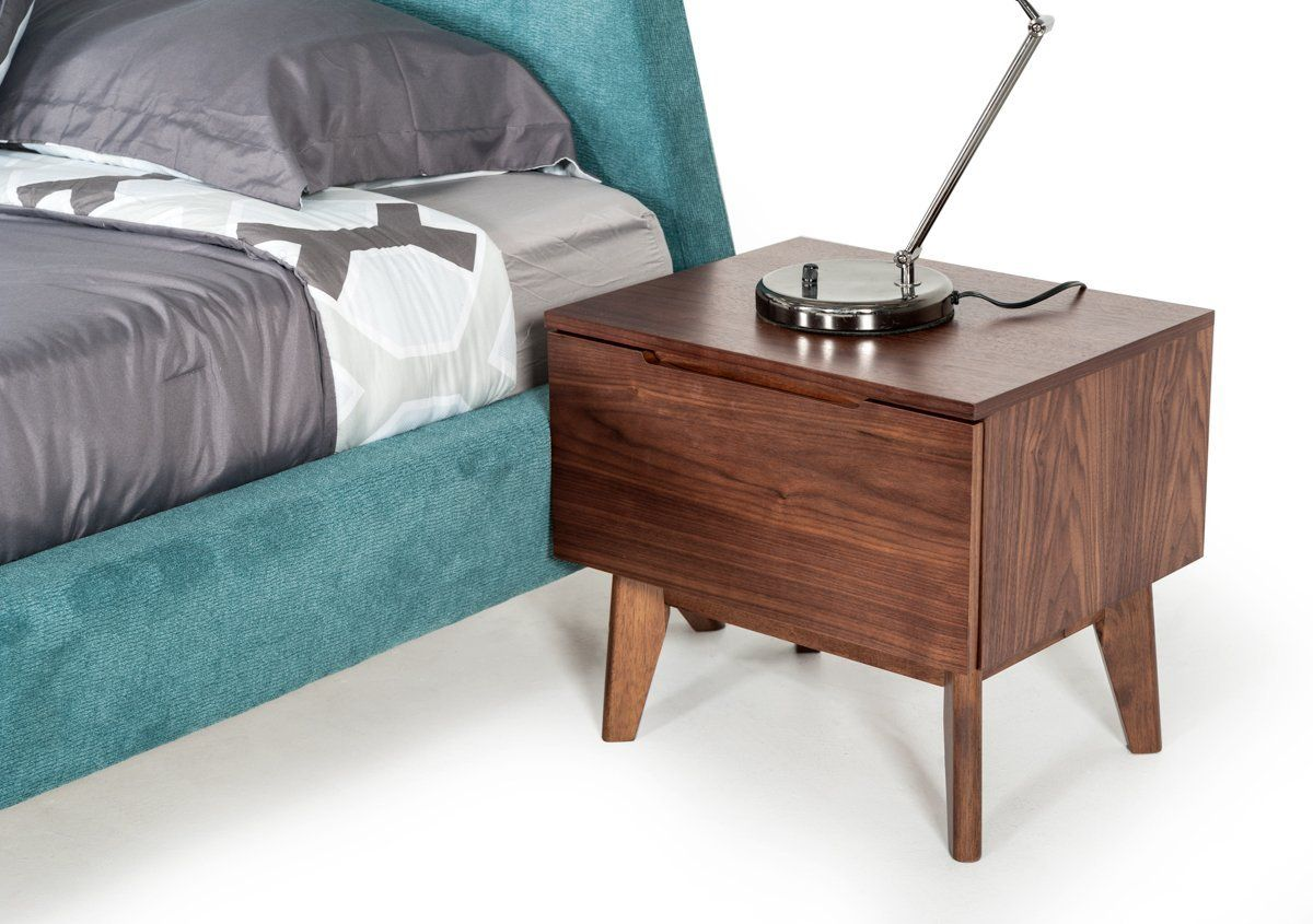 Modrest lewis midcentury modern nightstand in products