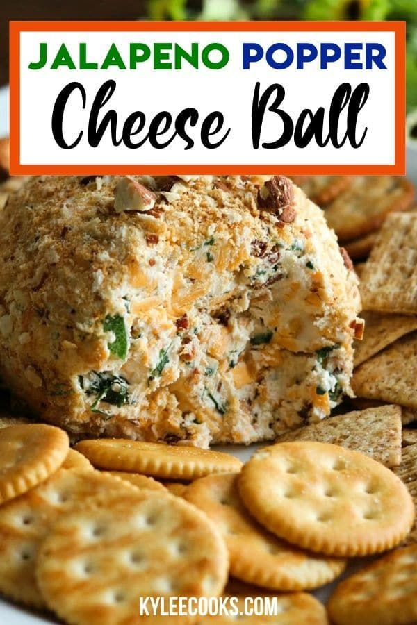 Photo of Jalapeno Popper Cheese Ball