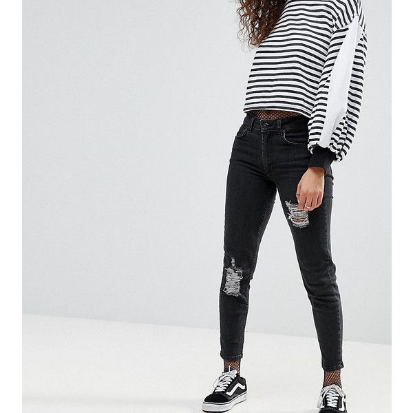 Destroyed Skinny Jeans - Black Kubban All Seasons Available With Mastercard For Sale For Sale Cheap High Quality 2018 New Online s90Tzh