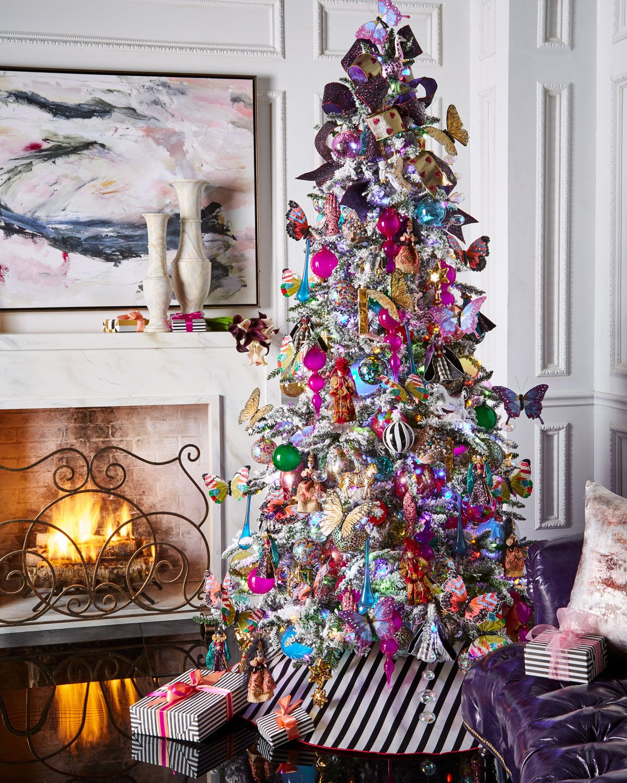 Whimsical Christmas Trees Ideas: Christian Lacroix Tree Skirt