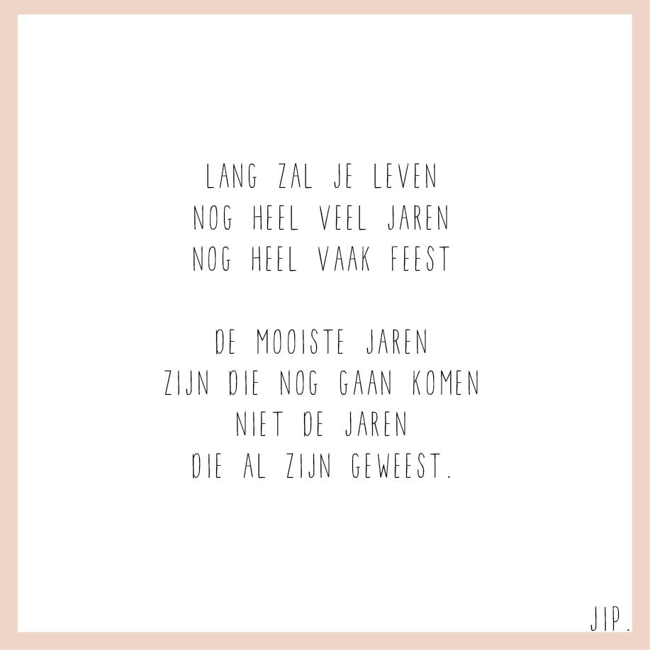 Gedicht Jarig
