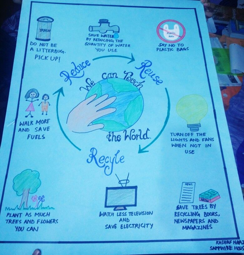 An environment friendly chart made by Kashaf Naaz Save