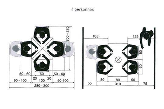 cuisine ou salle manger quel espace pr voir pour une. Black Bedroom Furniture Sets. Home Design Ideas