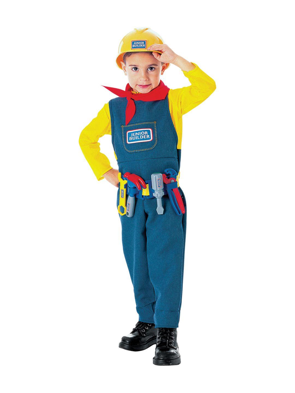 Junior Builder Costume  sc 1 st  Pinterest & Junior Builder Costume | Kids Fashion | Pinterest
