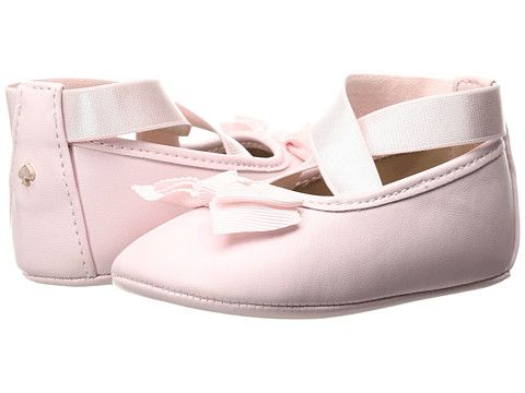 ee9ab740ce2eb Kate Spade New York Kids Ballet Slipper with Bow (Infant Toddler ...