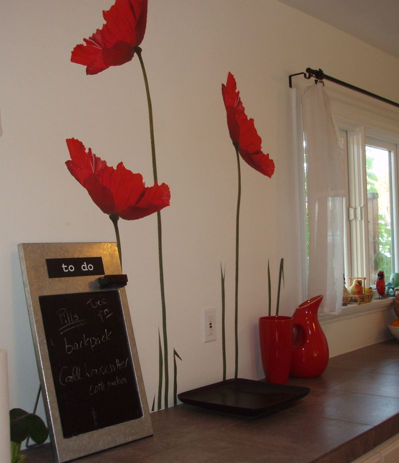 Exceptionnel IKEA Poppy Wall Decals That I Havenu0027t Used Yet, Which Is Good Because