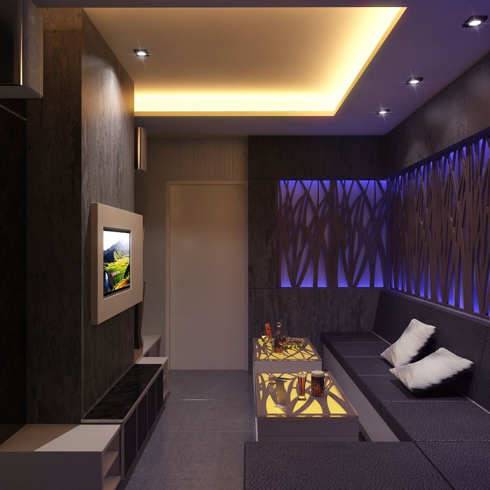 Interior Design Ideas For Home Theater: Karaoke Room 1 View 2