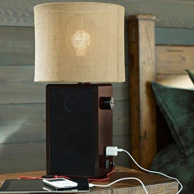 Speaker Lamp Base - $150 iluminacion y lamparas Pinterest