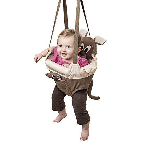 16be8ad685da NEW Baby Door Jumper Owl Bouncer Doorway Swing Jump Up Seat Exercise ...