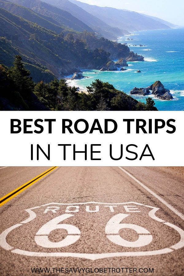 Best Road Trips in the USA For Your Bucket List