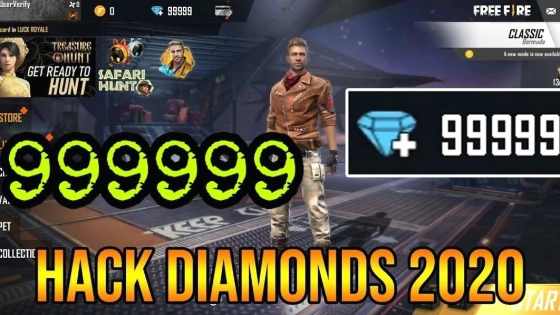 Free Fire Unlimited Diamond Script Game Guardian To Get In 2020 Diamond Free Fire Generation