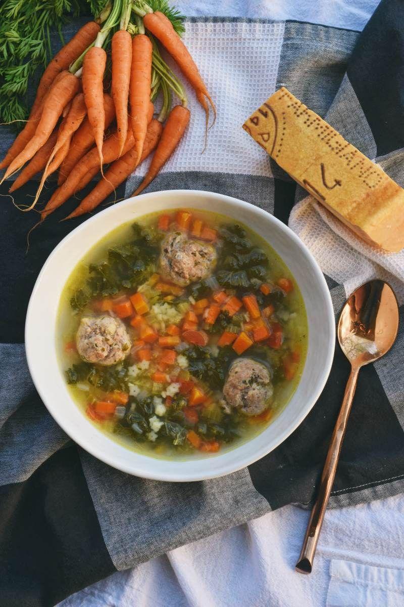 Easy Italian Wedding Soup Recipe Italian wedding soup