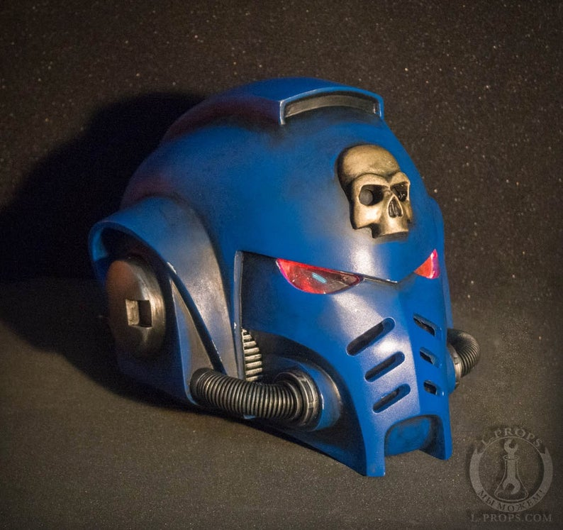 Primaris Space Marine Helmet Etsy Space Marine Marine Helmet