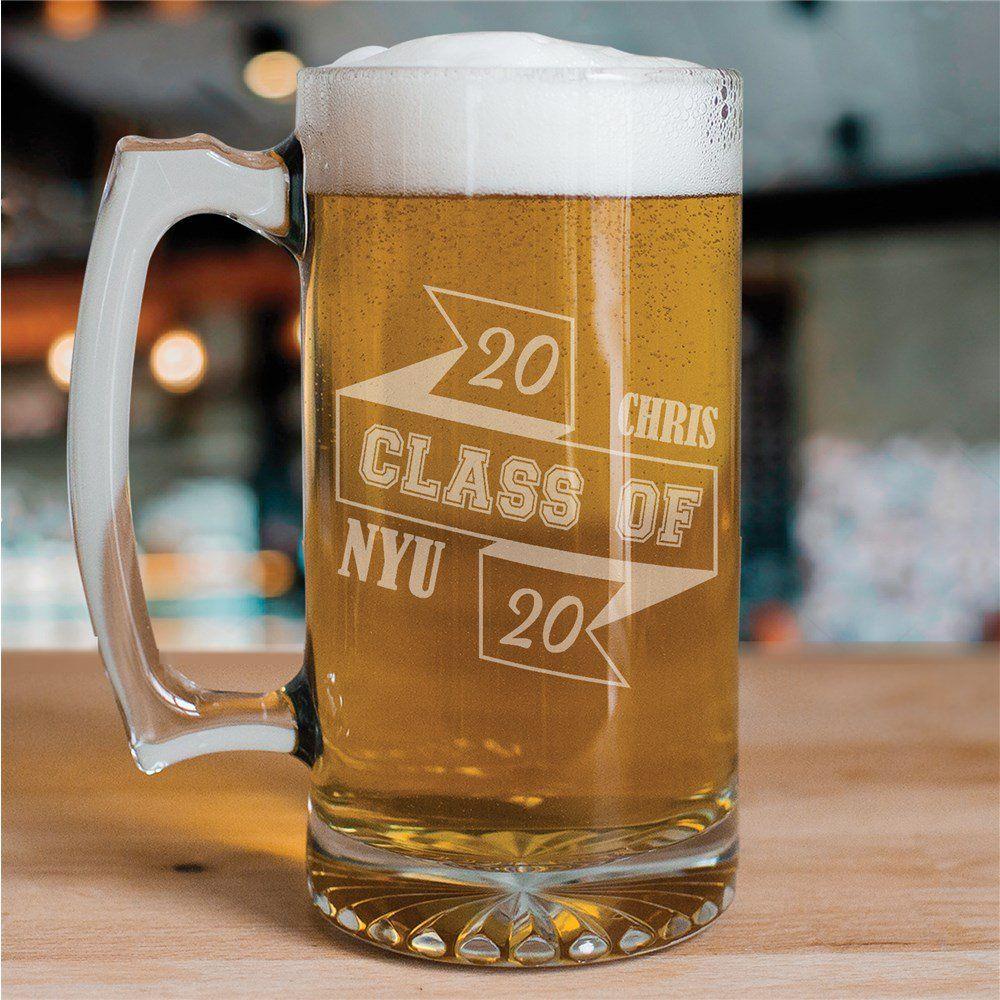Class of graduation beer mug in 2020 graduation gifts