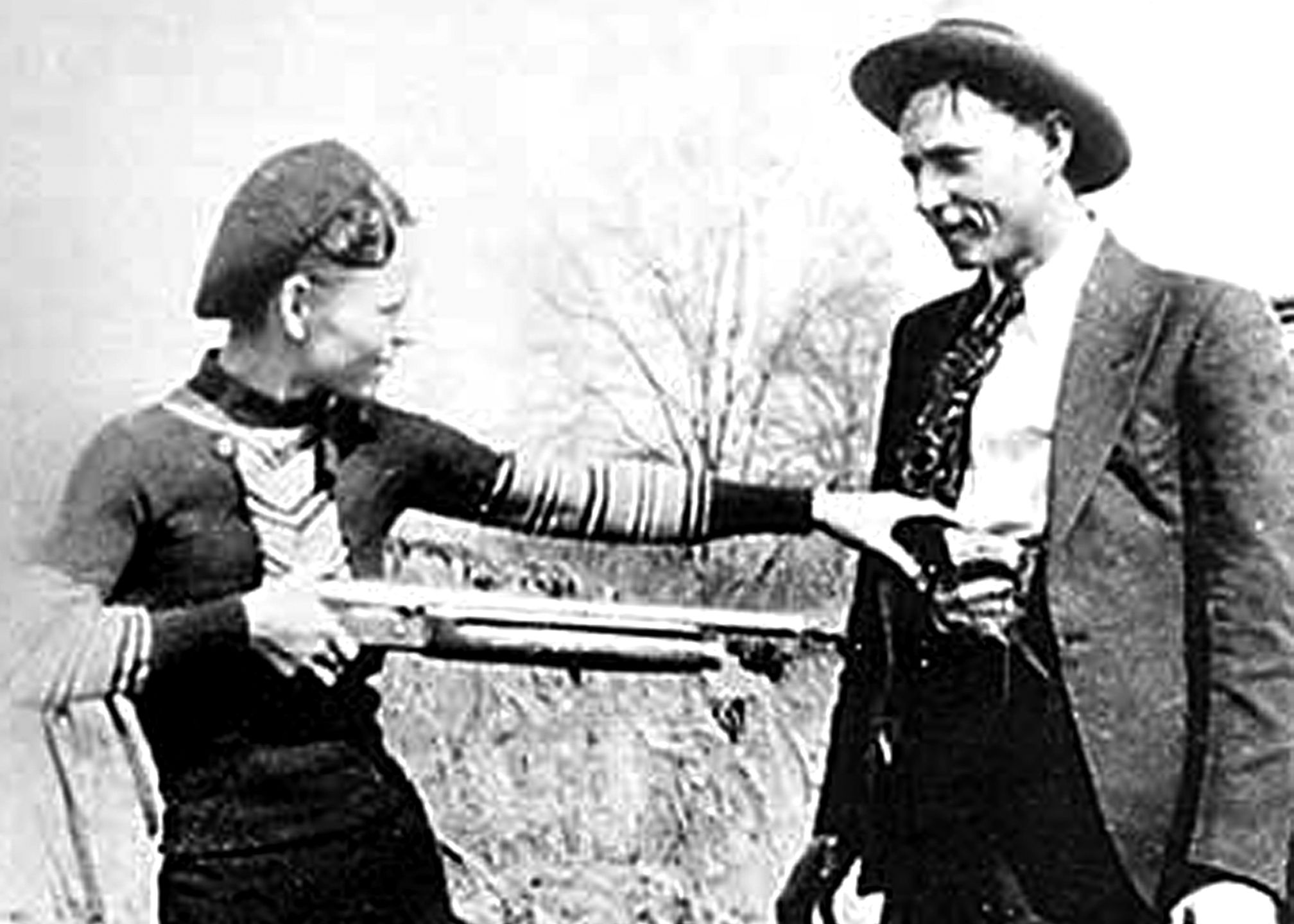 bonnie and clyde - art | Stuff for the new house | Pinterest
